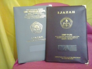 Map Ijazah Hotprint